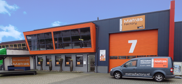 Showroom Matras Factory Heerenveen