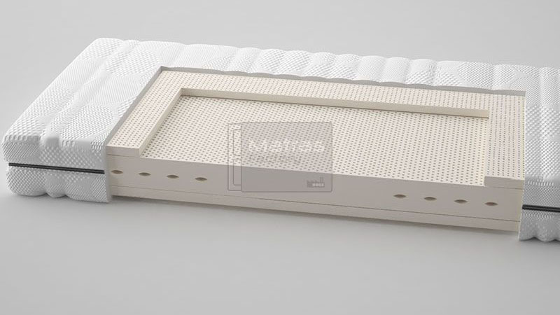Talalay® latex matras 'Classic Medium'