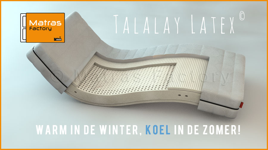 Talalay latex matrassen